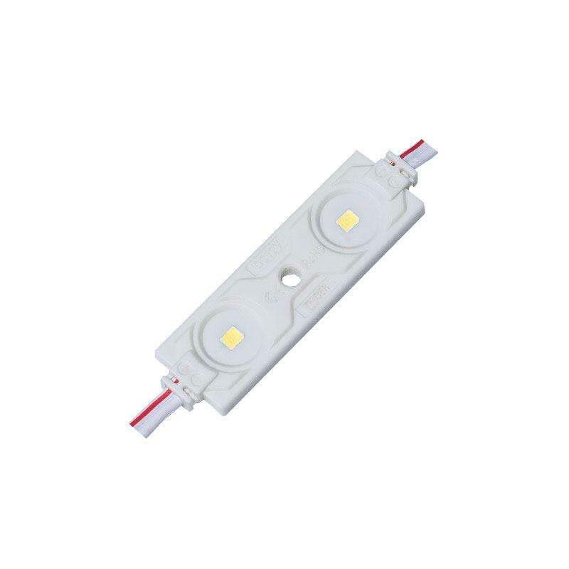 Módulo Led ABS Monocolor, 2xSMD2835, 0,72W, Blanco neutro